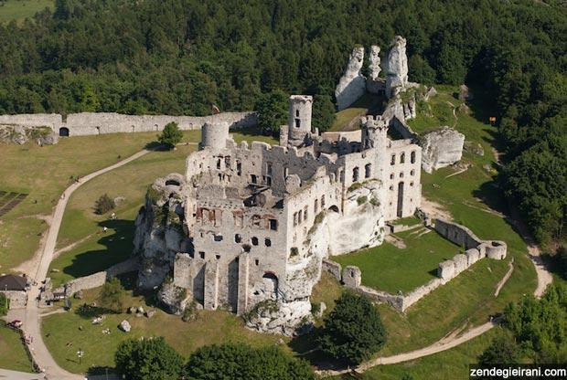 قلعه های شگفت انگیز و جذاب لهستان