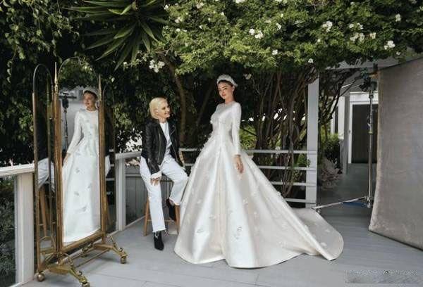 تصاویر مراسم ازدواج مدلینگ مشهور میراندا کر
